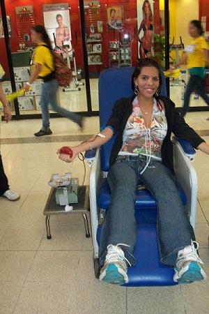 donantes en el HMIJDO