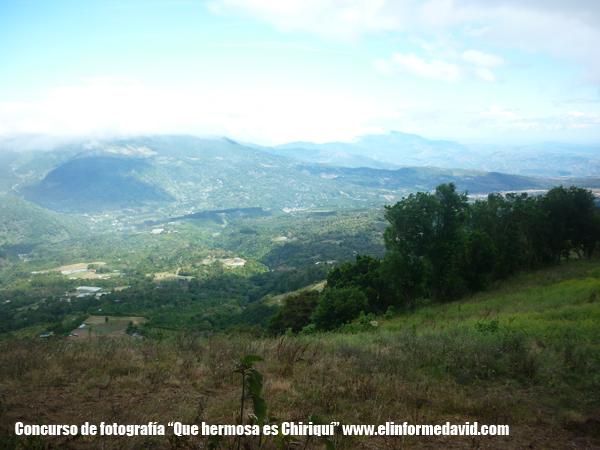 Vista de Boquete desde El Volcan Barú