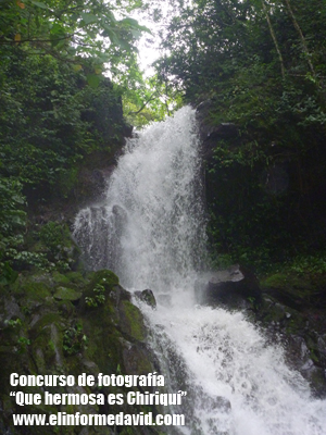 Cascada San Ramón (ubicada en Boquete)