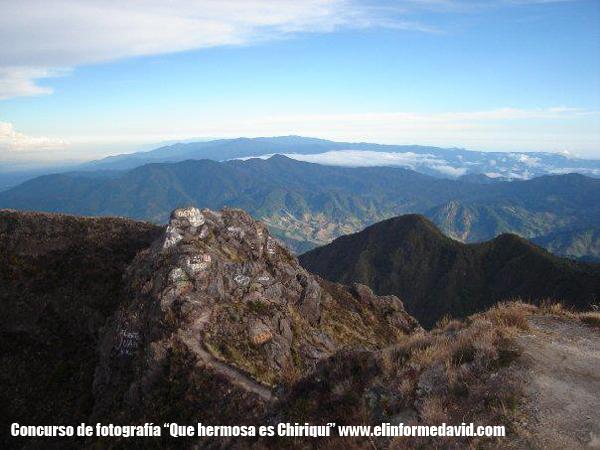 Foto panorámica Volcan barú