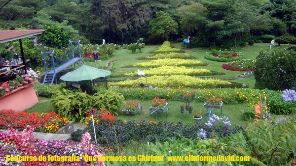 """Hermoso y llamativo sitio turístico """"Mi Jardín es su Jardín"""""""