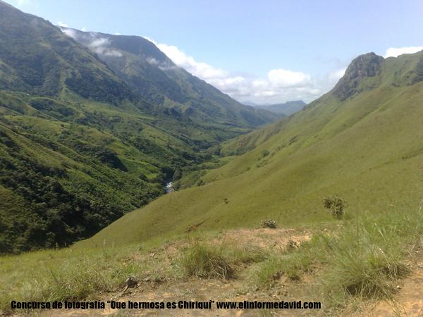 Montañas de la comunidad de Hato Comun en tole una belleza por descubrir.
