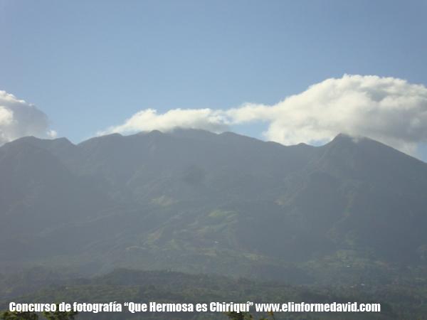 El Volcán Barú el punto mas alto de nuestra geografía nacional